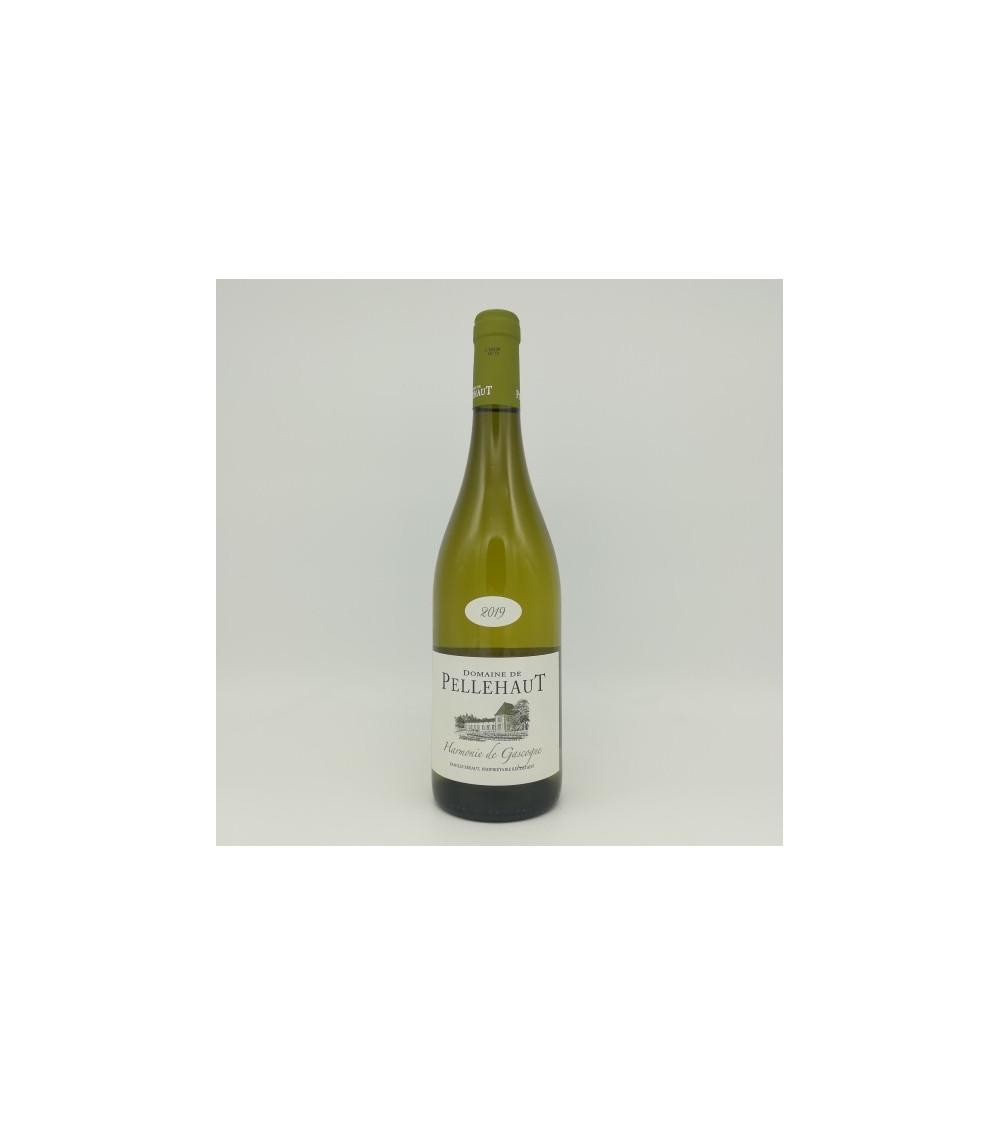 Côtes de Gascogne-Harmonie de Gascogne blanc 2019 - Domaine de Pellehaut 2019