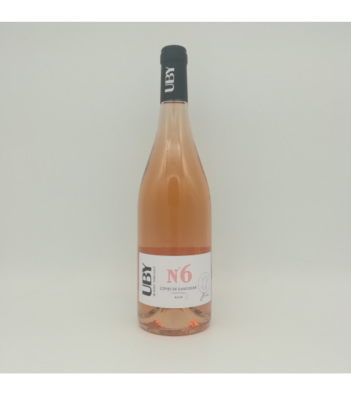 Côtes de Gascogne Uby n°6 rosé