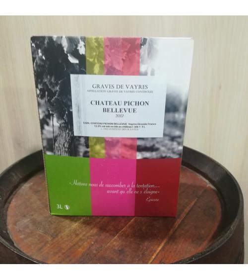 BIB 3L -Graves de Vayres Château Pichon Bellevue rouge