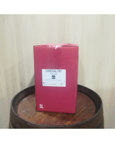 BIB 5L - VDT Gargalou rouge