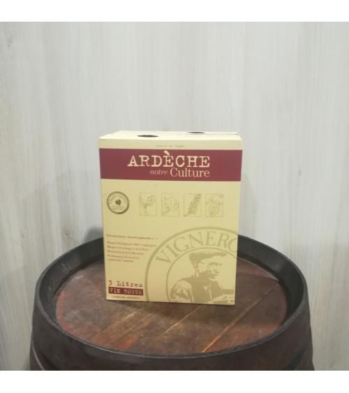 BIB 3L - IGP Ardèche viticulture éco-responsable rouge