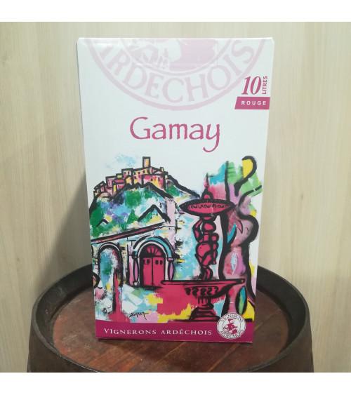 BIB 10L - IGP Ardéche Gamay