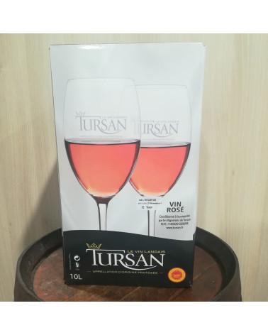 BIB 10L- A.O.C. Tursan rosé