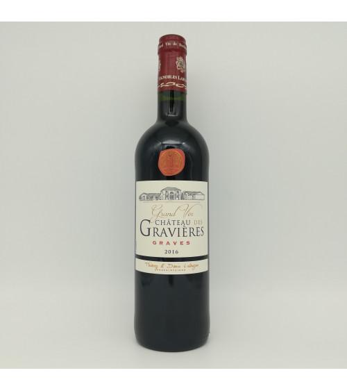 Graves, Château de Gravières, rouge 2016 - Vigobles Labuzan