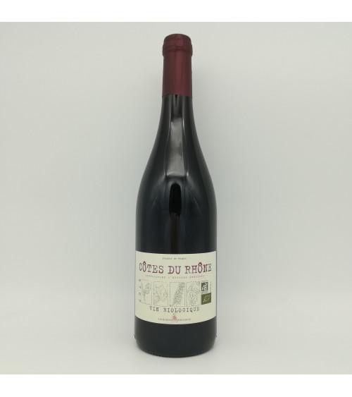 Côtes du Rhône 2019 - vin biologique - Les Vignerons Ardéchois