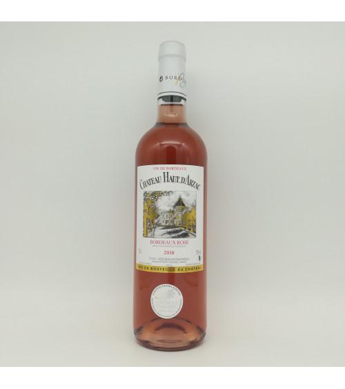 Château Haut d'Arzac Bordeaux rosé 2018 - Vignobles Boissonneau
