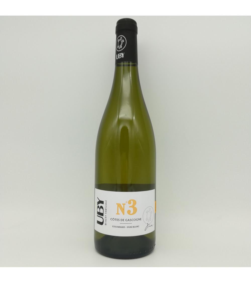 Uby blanc n°3 Colombard-Ugni blanc -2020- Côtes de Gascogne