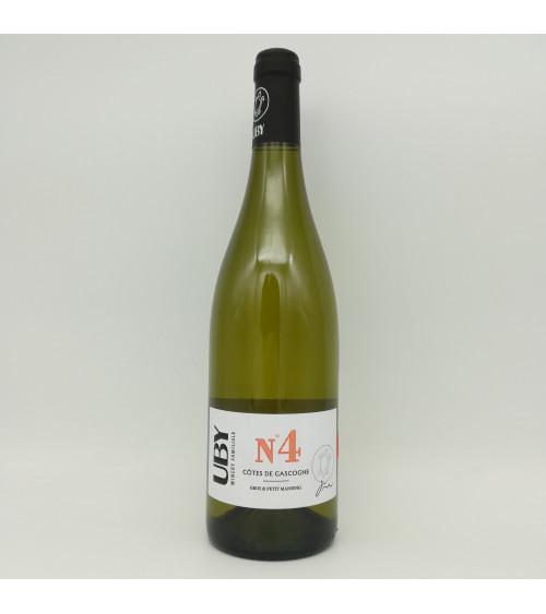 Uby blanc Gros & Petit Manseng n°4-2019-Côtes de Gascogne