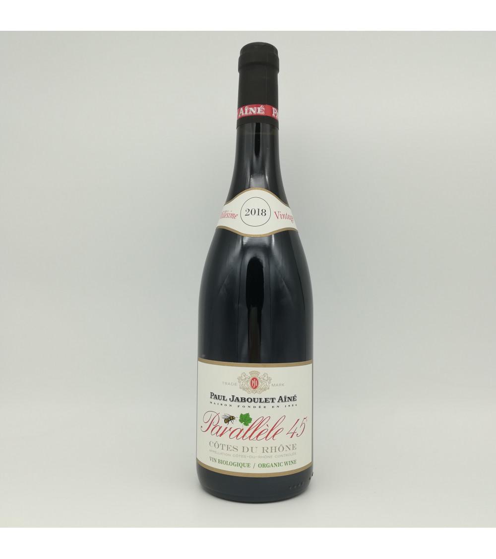 Côtes du Rhône, Parallèle 45, rouge 2018 Vin Biologique-Paul Jaboulet Aîné